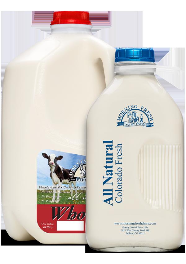 Morning fresh milk