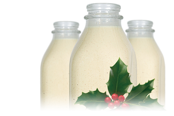 Mmm...Eggnog is Ready!$3.49 per quartOrder online or you can find it at Whole Foods. Get Some Eggnog Now