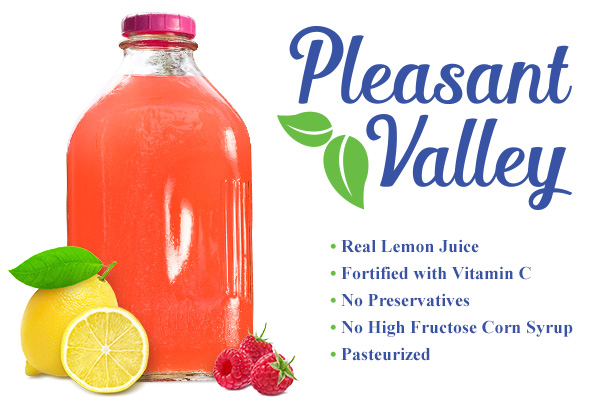 Pleasant ValleyRaspberry Lemonade Introductory Price$2.99 1/2 Gallon